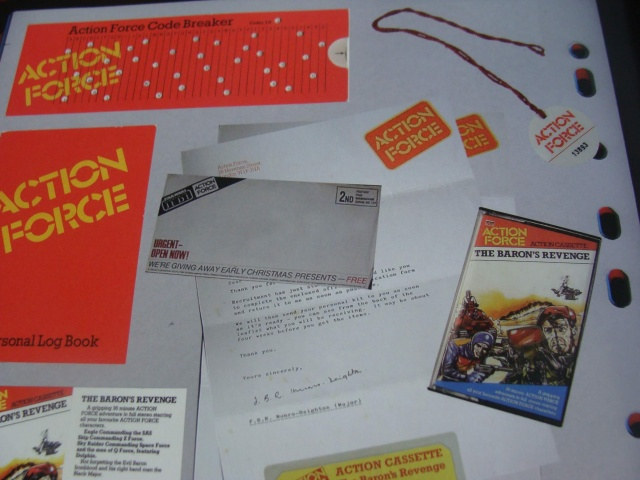 Action Force Membership pack