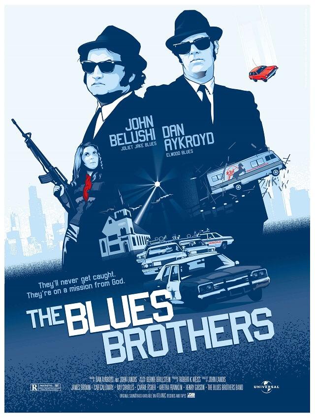 de magie van filmposters the blues brothers 1980 80sgeek