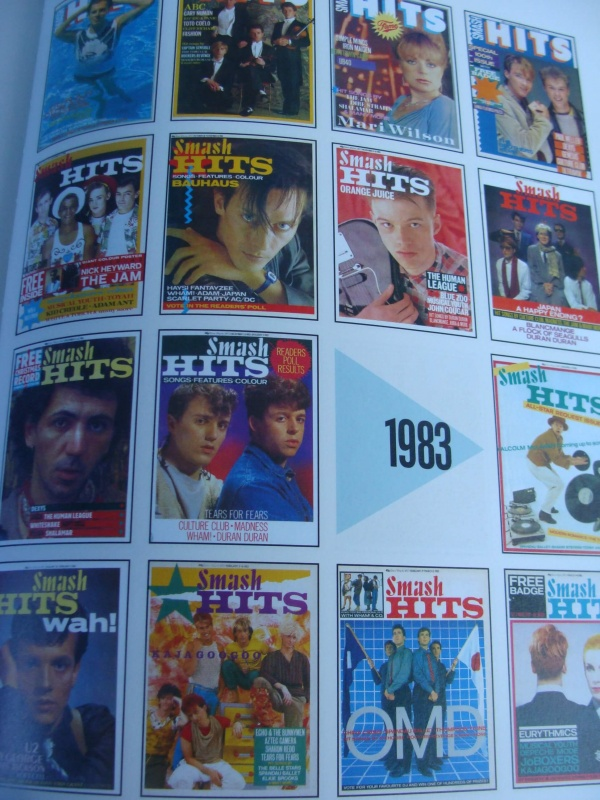 Smash Hits 80s covers 1983