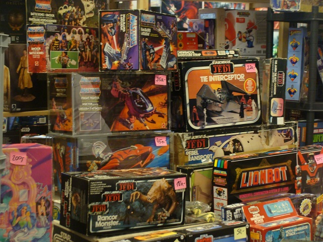 80s merchandise star wars masters of the universe