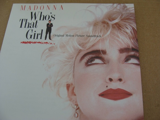 Who's That Girl Madonna 80's