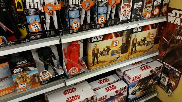 Breda shopping Star Wars uitverkoop