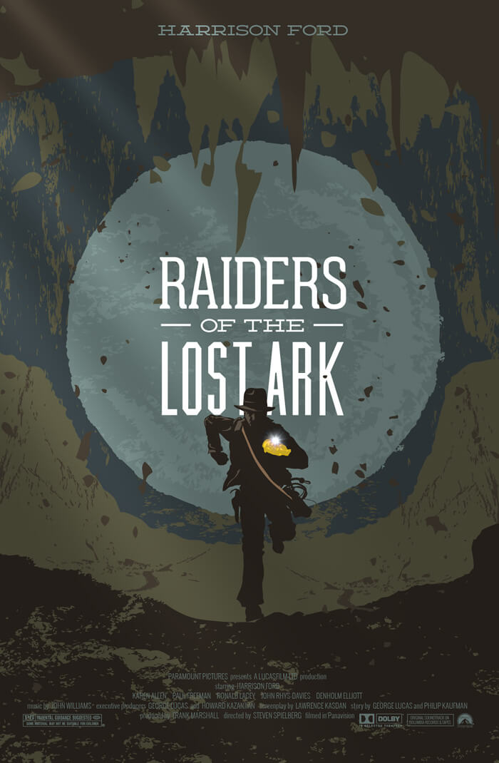 Raiders Of The Lost Ark Movieposter