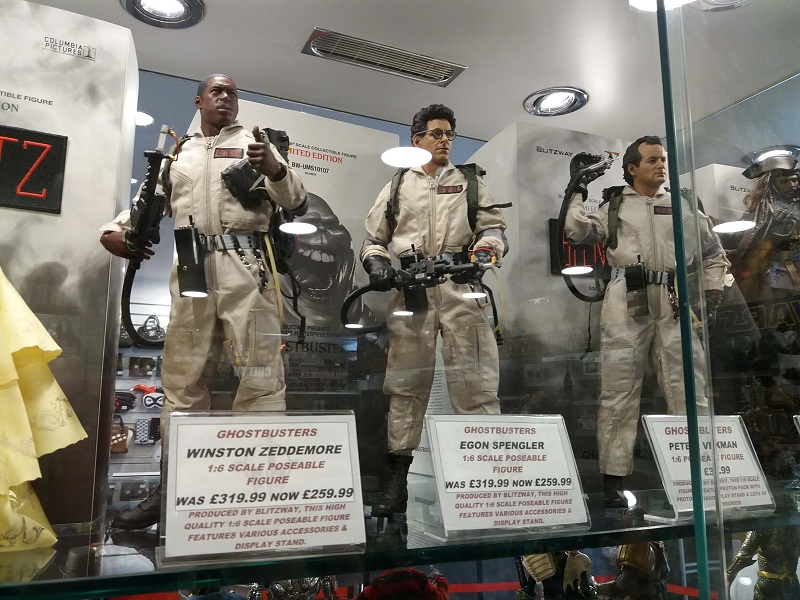 Ghostbusters Forbidden Planet