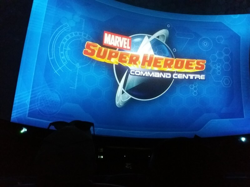 Marvel Heroes Command Centre London Madame Tussauds