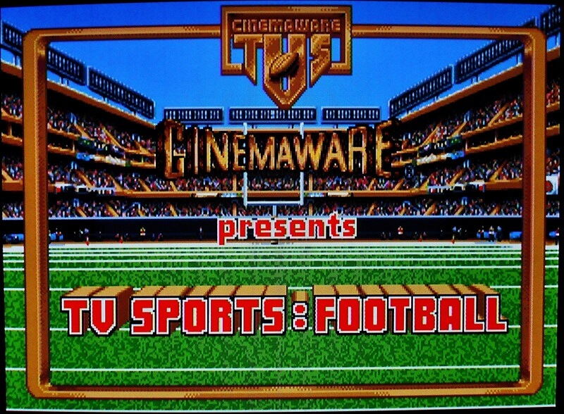 commodore amiga cinemaware tv sports football