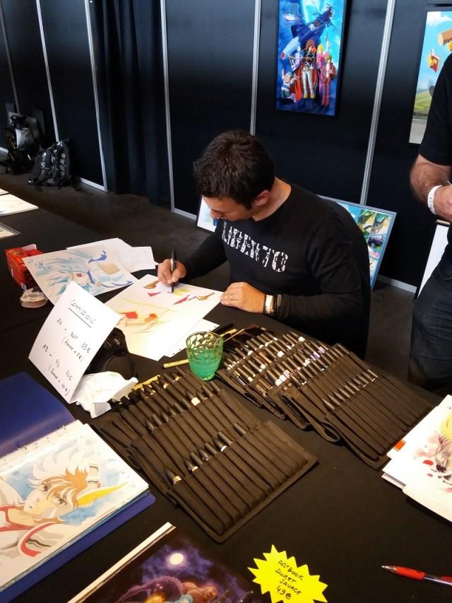 Jérôme Alquié facts 2017 manga artist Albator