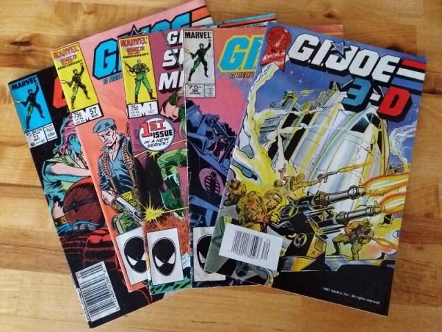 facts 2018 comics haul GI Joe