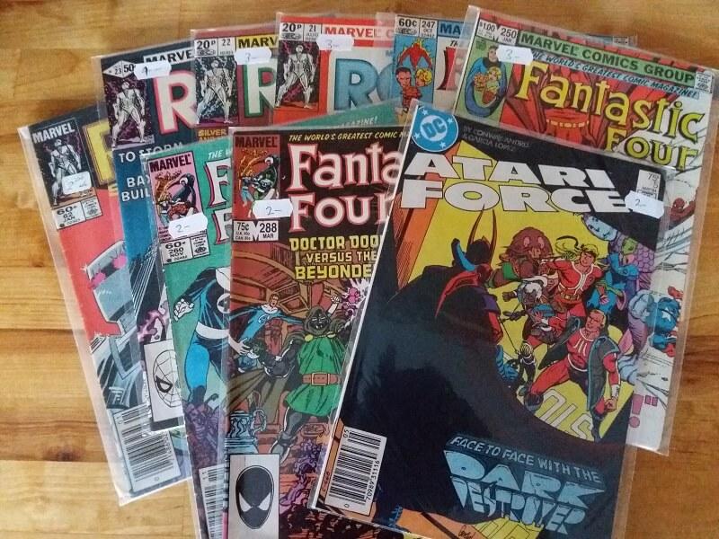 haul facts 2018 Atari Force Fantastic Four John Byrne