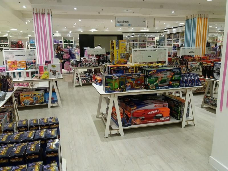 London Shopping Selfridges Oxford Street Toys