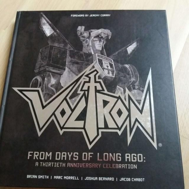 Voltron artbook boeken