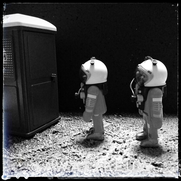 In space nobody can hear you poop.
