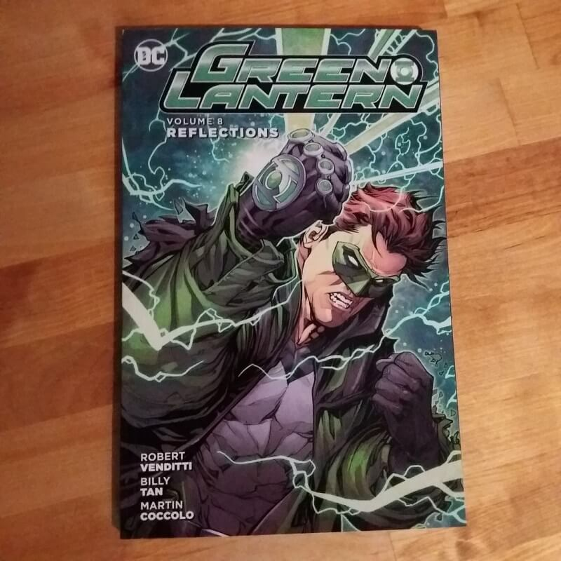 Green Lantern Reflections Robert Venditti