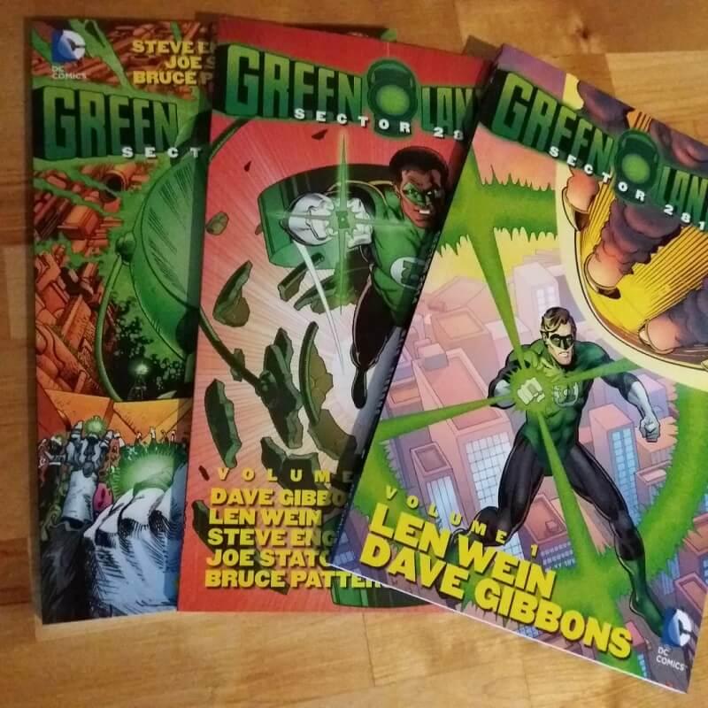 Green Lantern Trades Len Wein Dave Gibbons