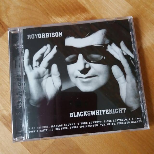 Roy Orbison Friends Black White Night