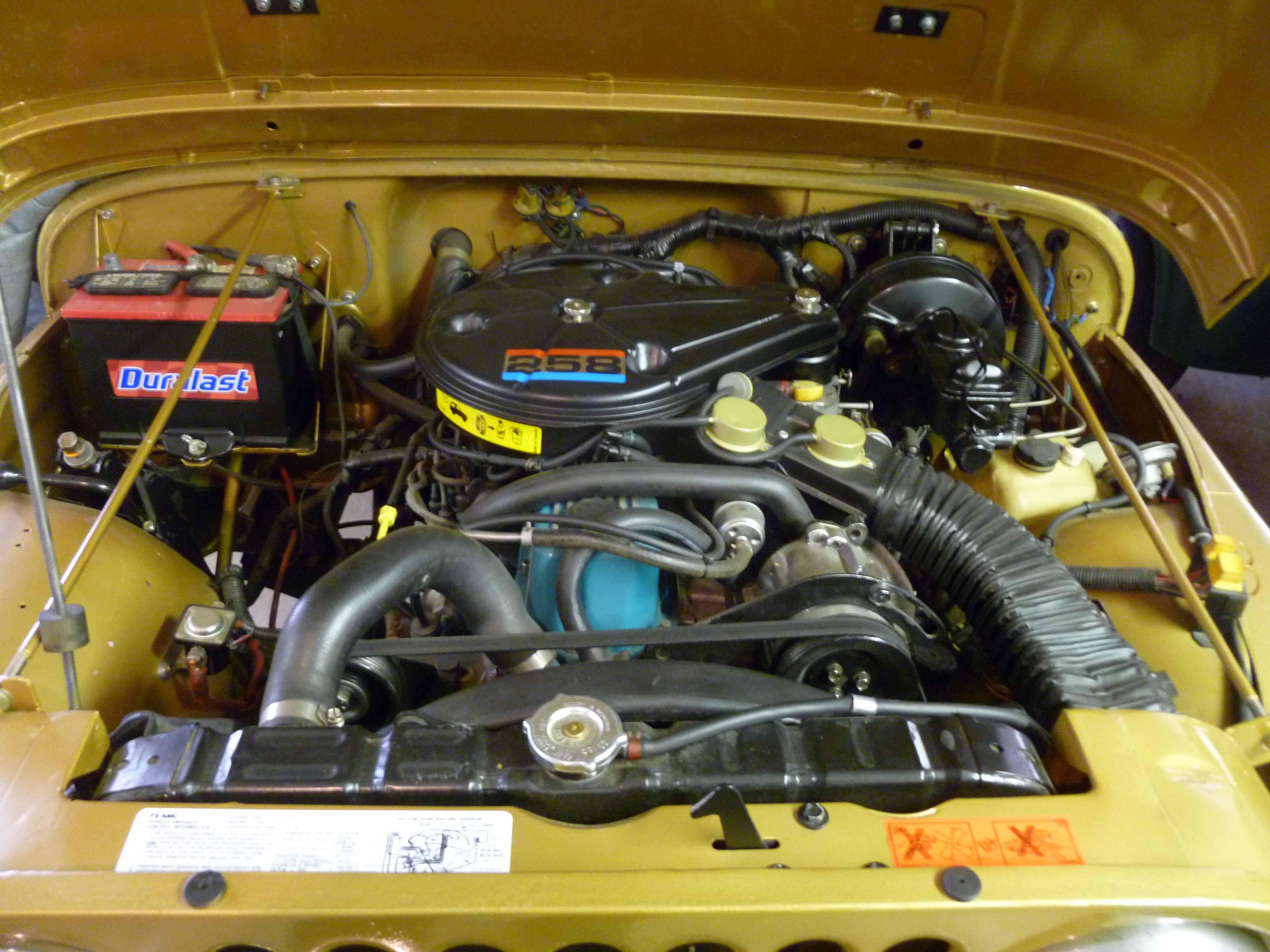 1982 jeep cj7 151ci engine schematics