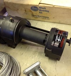 below are some close up pictures of the nos new old stock ramsey 2001 winch and nos mounting kit used on 0152 yes an nos ramsey winch and mounting kit  [ 1600 x 1195 Pixel ]
