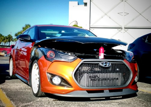 small resolution of hyundai veloster turbo intercooler monster front mount intercooler 845 motorsportsmonster front mount intercooler