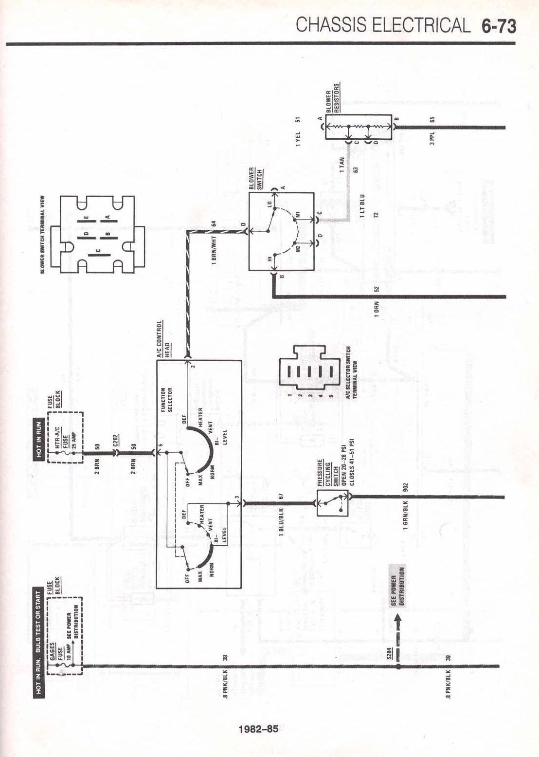 68 Camaro Wiring Diagram Schematic