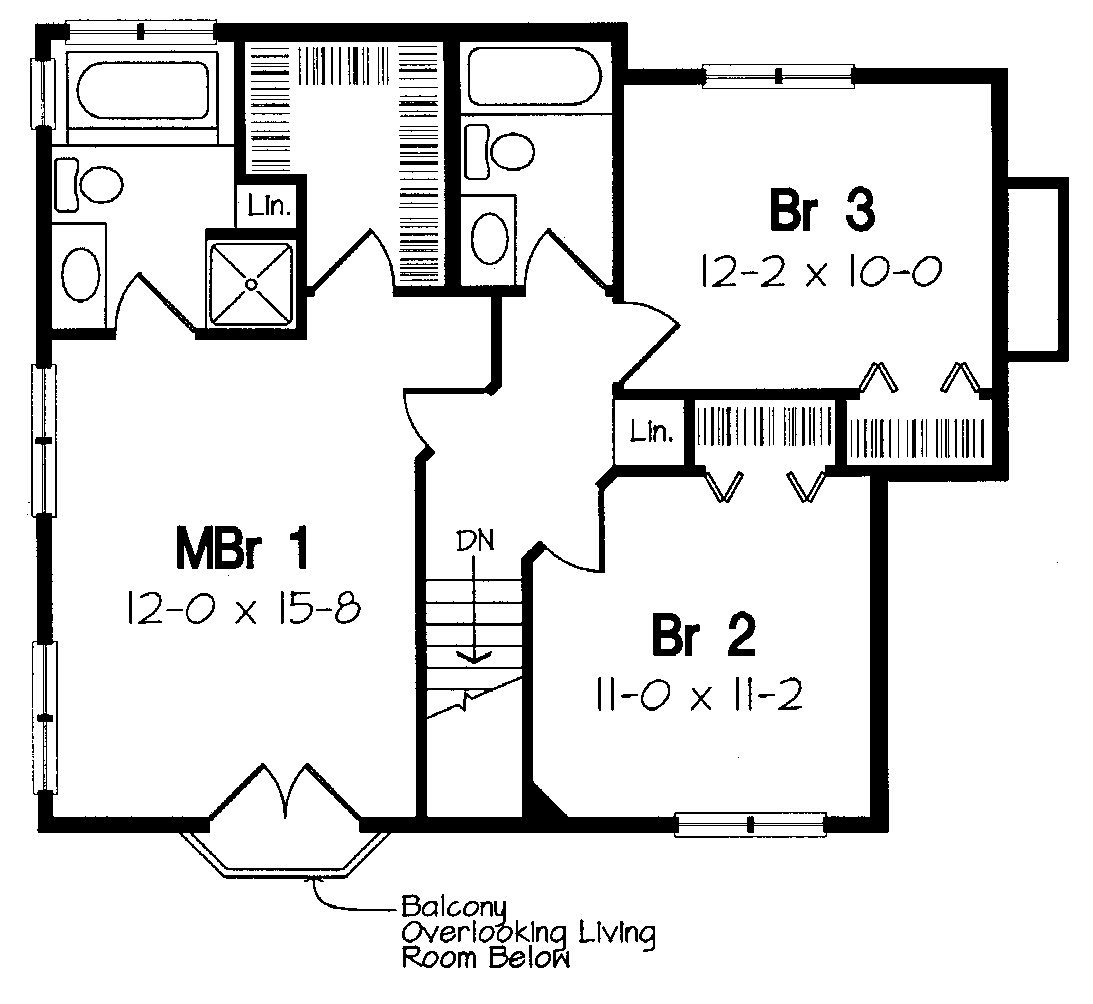 3 Bedroom House Plan Highland