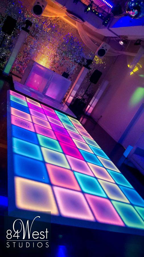 LED Dance Floor  84 WEST STUDIOS South Florida Events