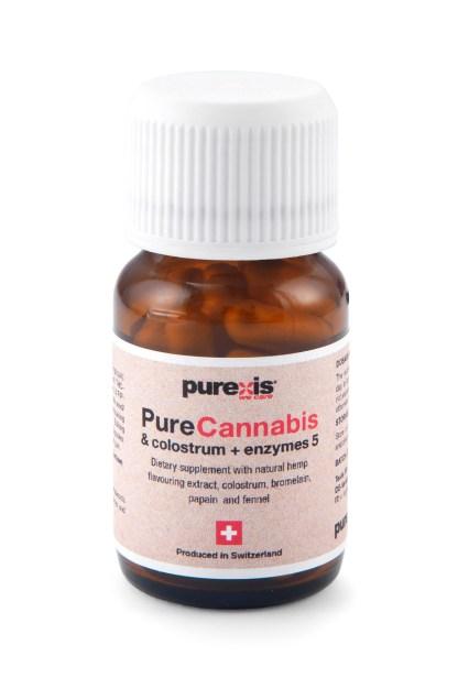 PureCannabis & colostrum + enzymes 5