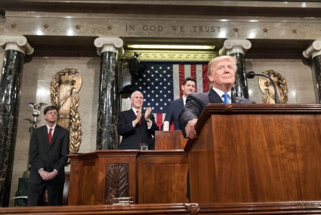 Prez Trump gives early and considerable attention to criminal justice reform in 2019 State of the Union address