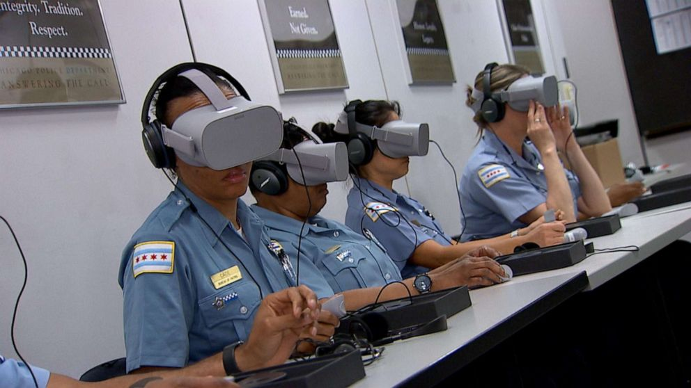 Police Offered Virtual Reality 'Empathy Training'
