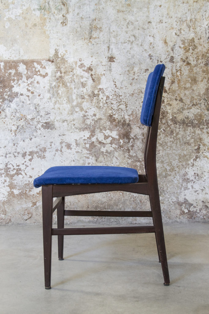 6 sedie 693 in legno e velluto di carlo de carli per cassina, anni '50. Mobili Vintage E Arredamento Anni 50 60 70 8 7 Design Space