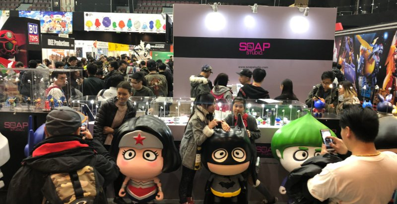 bwing at toysoul 2017