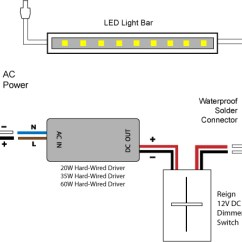 Dimming Switch Wiring Diagram Chevy S10 Headlight 88light Reign 12v Led Dimmer Diagrams