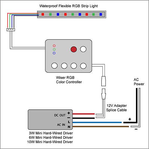Led Wiring Diagram Solar Light Circuit Diagram Rgb Led Circuit Diagram