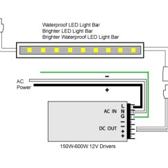 Led Bar Wiring Diagram Where Are My Lymph Nodes Located 88light Light To Adapter And Driver Diagrams