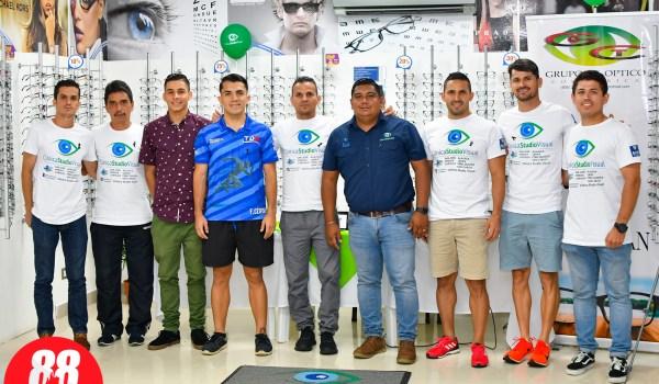 Presentación del equipo de atletismo Clínica Studio Visual