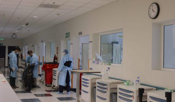 Saturación hospitalaria persiste a pesar de disminución en casos del COVID-19