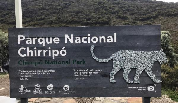 ¿En qué se invirtieron ₡600 millones en el Parque Nacional Chirripó y con qué objetivo?