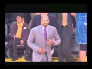 Who Is The Asian Woman Sitting Courtside At Lakers Home Games?