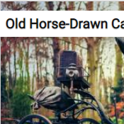 Old Horse-Drawn Carriage Jigsaw Puzzle Game
