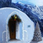 EnaGames The Frozen Sleigh-The House of Igloo Escape