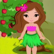 Games4king Cute Wild Girl Rescue