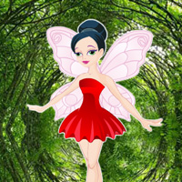 Wow Butterfly Girl Forest Rescue