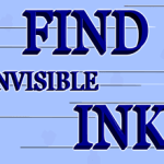 Find Invisible Ink Escape