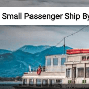 Small Passenger Ship By The Jetty Jigsaw Puzzle Game