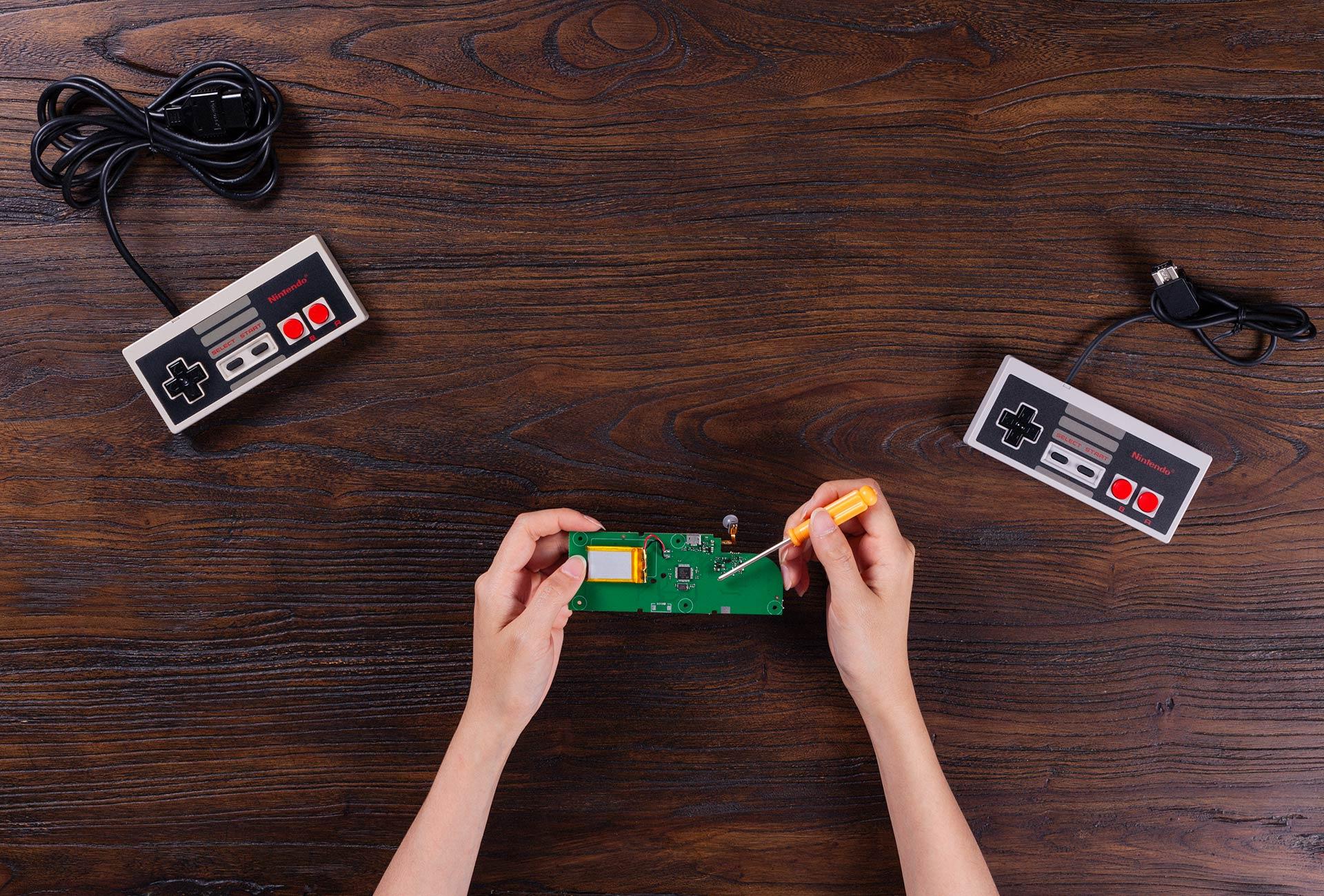 hight resolution of 8bitdo mod kit for original nes classic controller