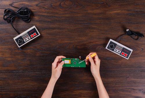 small resolution of 8bitdo mod kit for original nes classic controller