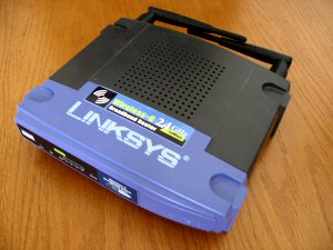 Upgrading a Linksys WRT54g router & monitoring bandwidth