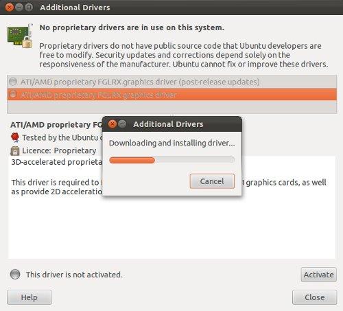 Ubuntu Proprietary Graphic Drivers