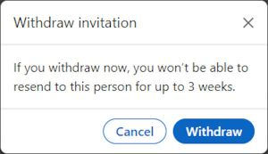 How to Remove/Withdraw a LinkedIn Connection Invitation Request