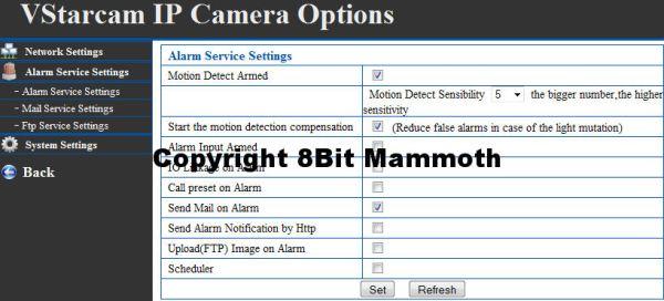 How to Setup the Vstarcam F6836W IPCAM / Webcam (IP Network Camera