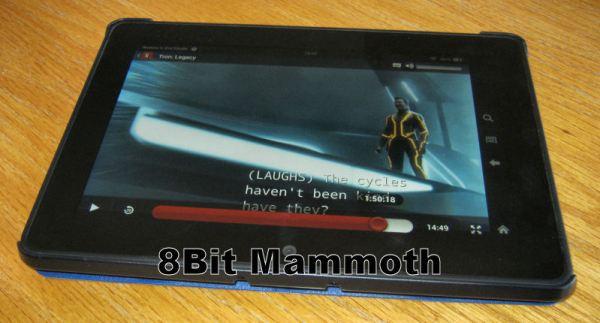 NetFlix Kindle Fire HDX tablet